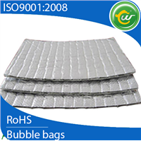 Pure aluminum foil heat insulation material