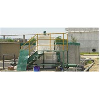 Lead-acid waste water treatment system used for battery industry