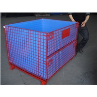 PET Preform Mesh box wire cage metal bin storage container