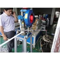 PVC Tile Trim corner profile Extrusion Production Line