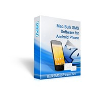 Mac Bulk SMS Software for Android Phone