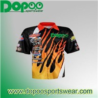 fashion custom sublimation motorcycle jersey from China sportswear manufacturer