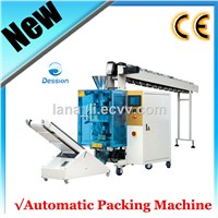 Semi-automatic snack Food Chain Bucket Packing Machine for Mushroom