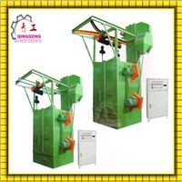Steel Structure Shot Blasting Machine/H Beam Shot Blasting Machine