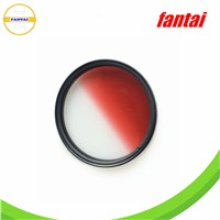 lens resin filter, graduated red filter, camera gradual filter series, camera gradual red filters
