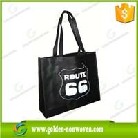 70gsm printed  eco polypropylene non woven fabric shopping  bag