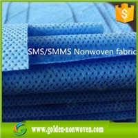 Hospital SMS SMMS Medical nonwoven fabric 35gsm for bed sheet,baby diaper