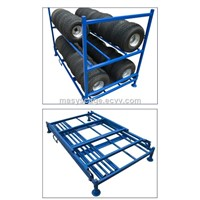 Heavy Duty Warehouse Steel Stacking Tire Rack