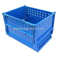 heavy duty storage metal container, warehouse pallet cage