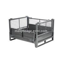 Heavy duty metal storage container, warehouse stillage box