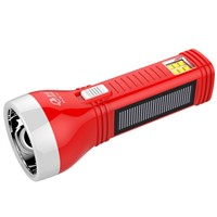 YD306 0.5W Dual Way Rechargeable solar power LED solar flashlight with lamp
