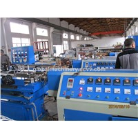 flexible corrugated wire conduit machine
