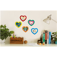 Love gifts heart-shaped magnet photo frame for flat surface