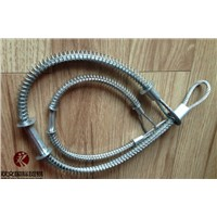 carbon steel material Whip check Safety cable