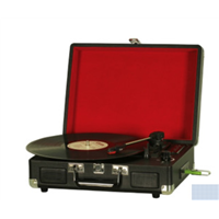 hot sale USB bluetooth Vinyl Suitcase Style Turntable record player home turntable Vinyl player