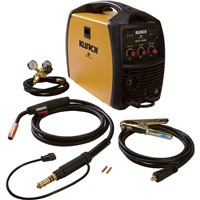 Klutch MIG 140SI Flux-Core/MIG Welder 115V, 140 Amp, Inverter-Powered