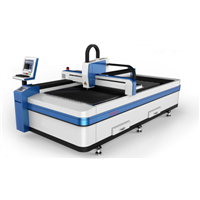 Exported type economical fiber laser metal cutting machine