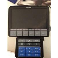 genuine and new pc200-8 pc220-8 pc240-8 excavator monitor 7835-31-1012