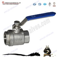 Price 2 pcs stainless steel BSP/NPT thread ball valves