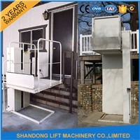3m hydraulic wheelchair platform lift for disabled elevator