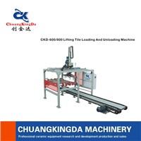 ckd-600/800 ceramic tiles loading and unloading machine