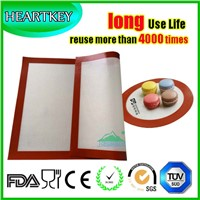 Custom New Design Long Use Time Silicone Baking Mat with Fiberglass
