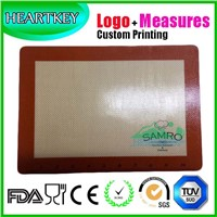 Logo Measures Customizable Silicone Baking Mat