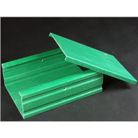 FRP Fire proof Cable Tray  supply china factory/Green color frp cable tray for power cables
