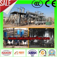 JZC waste engine oil regeneration, vacuum oil distillation plant