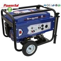 Professional 2500kw Gasoline Generator/100% Copper 6.5HP Gasoline Generator