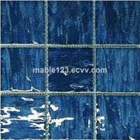 Wholesale swimming pool mosaic ,hotsale pool mosaic yale blue