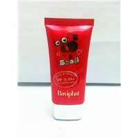 50ml oval packaging tube for sunscreen cream