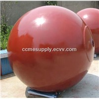 Marine spherical buoy, offshore mooring buoy