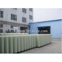 FRP tanks for water filter treatment/High Pressure FRP Tank Vessel Water Pre-Treatment Sand Filter