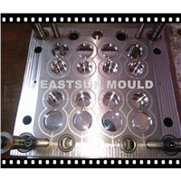 8cavities plastic container mold