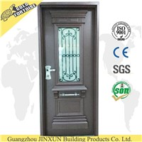 Israel Type Decorative Security Door for Sale,with door handle , exterior doors