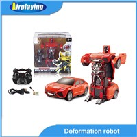 deformation robot remote control car transformers autobot