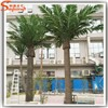 Guangzhou factory make large artificial palm trees plastic trees for hotel deocration