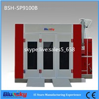 BSH-SP9200A Downfradt spray booth with CE certification
