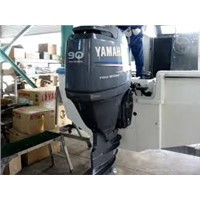 Used Yaha 90 HP 4 Stroke Outboard Motor Engine