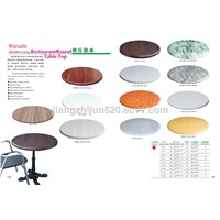 mold pressing table top round shape