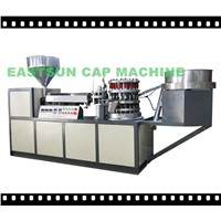 plastic bottle cap linning machine