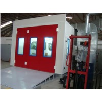 Paint Spray Booth with PLC Control System