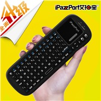 iPazzPort Mini Wireless Keyboard and Mouse Combo with touchpad air mouse,the