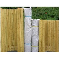 Bamboo fence for gardening landscape