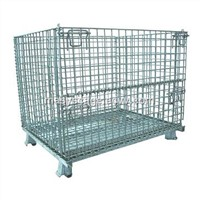 High Quality Collapsible Stackable Welded Steel Mesh Stillages