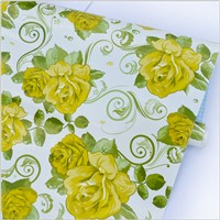 Custom Wallpaper Eco-Solvent Wall paper Printing Self Adhesive Vinyl Printing of Colorway