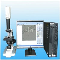 Fiber diameter measuring instrument