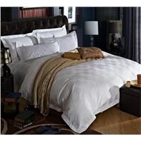 100% cotton hotel bed sheet set