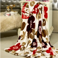 Super Soft Polar Fleece Bed Cover Blanket